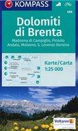 Wandelkaarten Italië