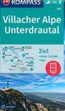 Kompass - WK 065 Villacher Alpe - Unterdrautal_