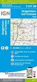 IGN - 2127SB Argenton-sur-Creuse - Cluis_