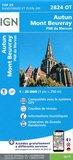 IGN - 2824OT Autun - Mont Beuvray - PNR du Morvan_