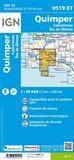 IGN - 0519ET Quimper - Concarneau_