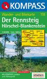 Kompass - WK 118 Der Rennsteig Hörschel-Blankenstein_