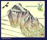 Climbing Map - Cerro Aconcagua_