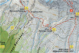 Climbing Map - Kilimanjaro_