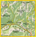 Tabacco - 058 Valsugana - Tesino - Lagorai - Cima d'Asta_