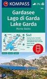 Kompass - WK 102 Lago di Garda - Monte Baldo 2010_
