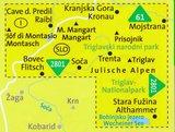 Kompass - WK 064 Julische Alpen - Triglav_