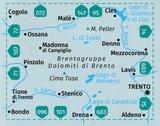 Kompass - WK 73 Dolomiti di Brenta_