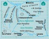 Kompass - WK 86 Gran Paradiso - Valle d'Aosta_