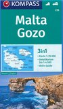 Kompass - WK 235 Malta - Gozo_