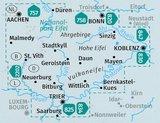 Kompass - WK 833 Eifel (set 4 kaarten)_