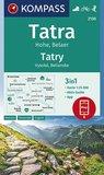 Kompass - WK 2130 Hohe Tatra - Belaer_