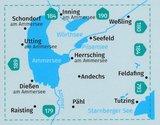 Kompass - WK 791 Ammersee - Wörthsee - Pilsensee_