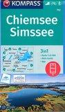 Kompass - WK 792 Chiemsee - Simssee_