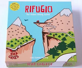 Rifugio combi: basisspel + helicopter (nieuw)