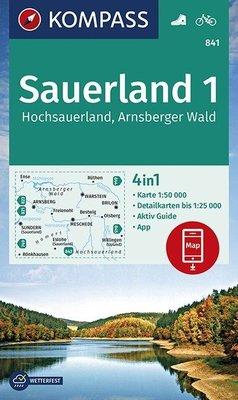 Kompass - WK 841 Hochsauerland - Arnsberger Wald
