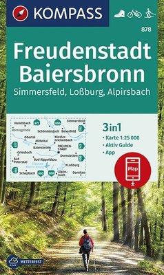 Kompass - WK 878 Freudenstadt - Baiersbronn