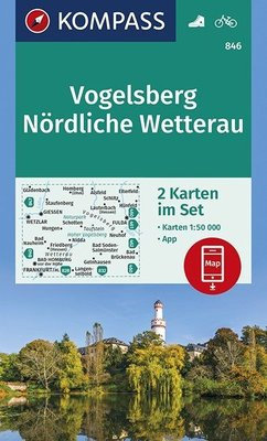 Kompass - WK 846 Vogelsberg - Nördliche Wetterau