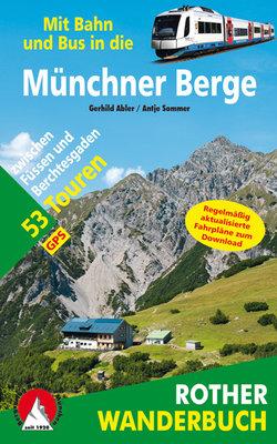 Rother - Münchener Berge mit Bahn und Bus wb