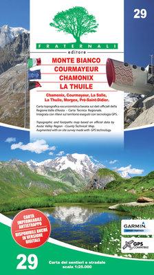 Fraternali - 29 Monte Bianco, Courmayeur, Chamonix, La Thuile