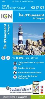 IGN - 0317OT Île d'Ouessant - Le Conquet
