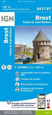 IGN - 0417ET Brest - Pointe de St-Mathieu