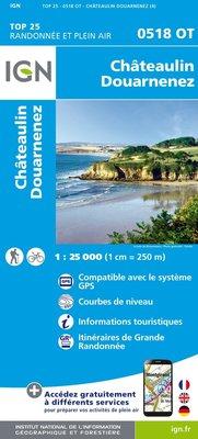 IGN - 0518OT Châteaulin - Douarnenez