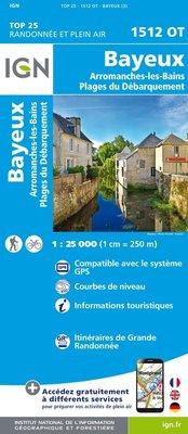 IGN - 1512OT Bayeux - Arromanches-les-Bains