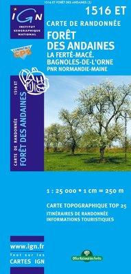 IGN - 1516ET Forêt des Andaines - La Ferté-Macé