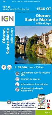 IGN - 1546OT Oloron-Ste-Marie - Vallée d'Aspe