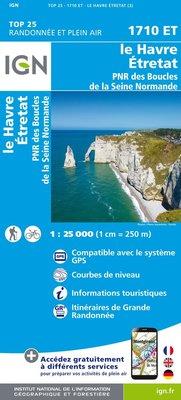 IGN - 1710ET Le Havre - Étrat