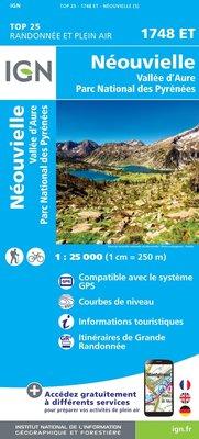 IGN - 1748ET Néouvielle - Vallée d'Aure
