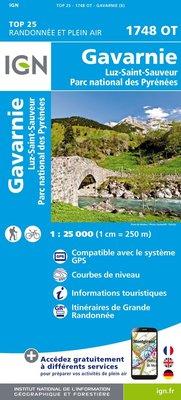 IGN - 1748OT Gavarnie - Luz-St-Sauveur