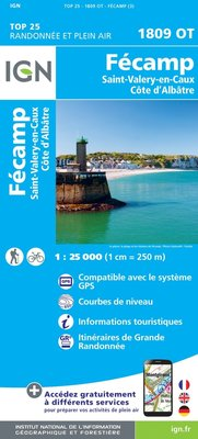 IGN - 1809OT Fécamp - St-Valery-en-Caux