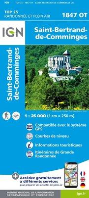 IGN - 1847OT St-Bernard-de-Comminges