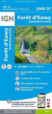 IGN - 2009OT Forêt d'Eawy - Neufchâtel-en-Bray