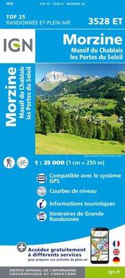 IGN - 3528ET Morzine - Massif du Chablais