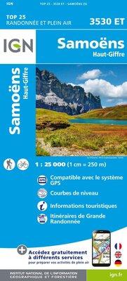 IGN - 3530ET Samoëns - Haut-Giffre