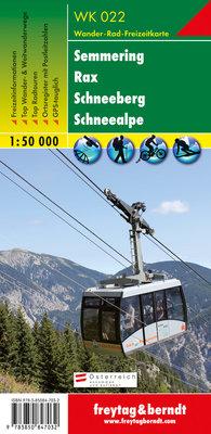 F&B - WK 022 Semmering-Rax-Schneeberg-Schneealpe
