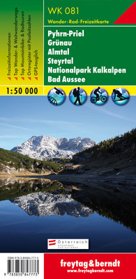 F&B - WK 081 Pyhrn-Priel-Eisenwurzen-Grünau-Almtal-Steyrtal-Nationalpark Kalkalpen