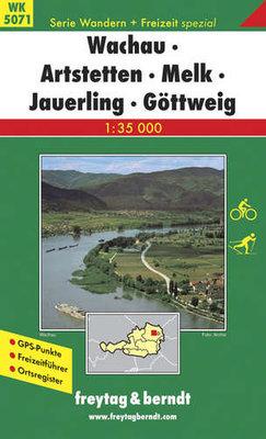 F&B - WK 5071 Wachau-Artstetten-Melk-Jauerling-Göttweig
