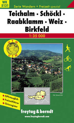 F&B - WK 5131 Teichalm-Schöckl-Raabklamm-Weiz-Birkfeld