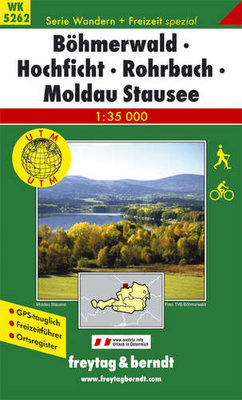 F&B - WK 5262 Böhmerwald-Hochficht-Rohrbach-Moldau Stausee