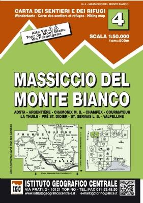 IGC - 4 Massiccio del Monte Bianco