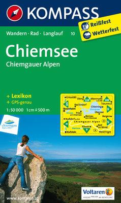 Kompass - WK 10 Chiemsee - Chiemgauer Alpen