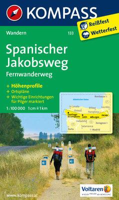 Kompass - WK 133 Spanischer Jakobsweg