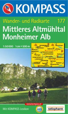 Kompass - WK 177 Mittleres Altmühltal - Monheimer Alb