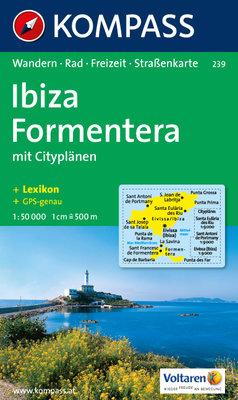 Kompass - WK 239 Ibiza - Formentera