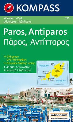 Kompass - WK 251 Paros - Antiparos
