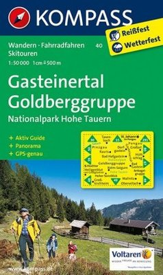Kompass - WK 40 Gasteinertal - Goldberggruppe